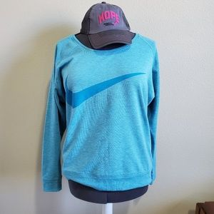 Nike sweatshirt and other brand  hat. Size L.